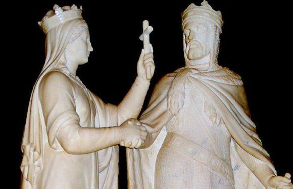 18 февраля 1386 года Ягайло вступил в брак с Ядвигой