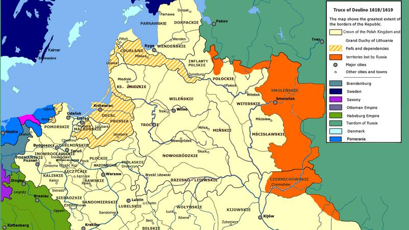 11 декабря 1618 года было заключено Деулинское перемирие
