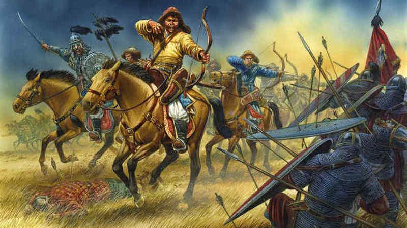 13 февраля 1241 года монголы разгромили польское ополчение