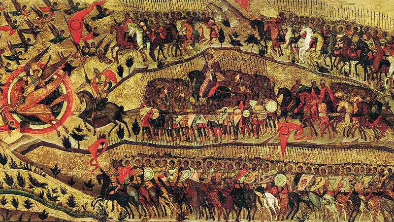 23 августа 1552 года войско Ивана Грозного осадило Казань