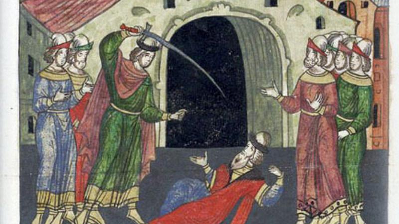 21 ноября 1325 года Дмитрий Михайлович убивает Юрия Даниловича