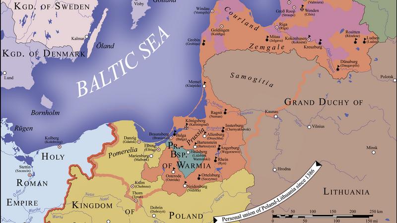 11 декабря 1519 года принято решение о войне с Тевтонским орденом