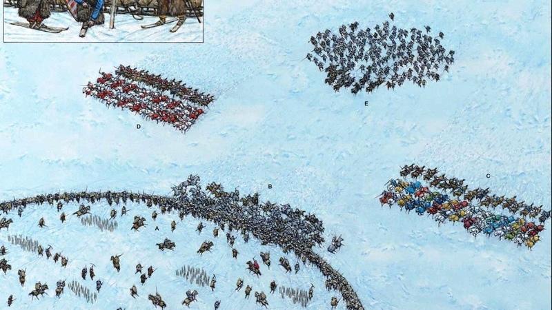 12 февраля 1270 года состоялась битва при Карусене