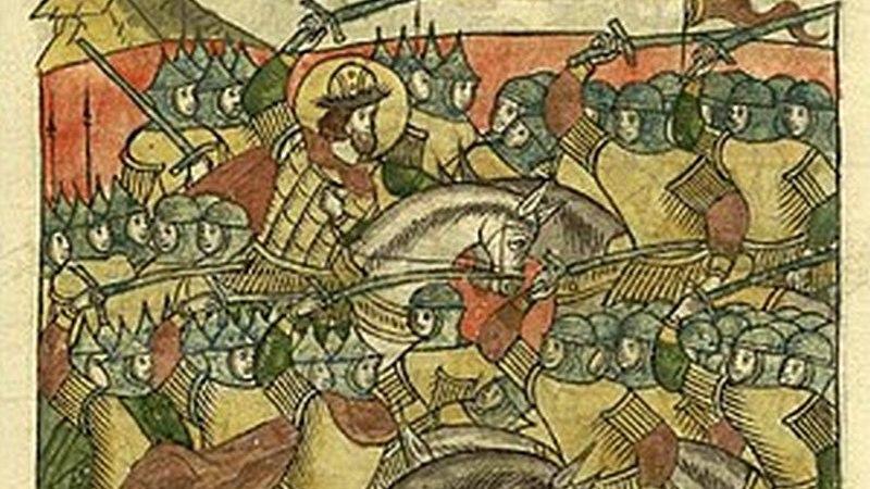 5 апреля 1242 года состоялось Ледовое побоище