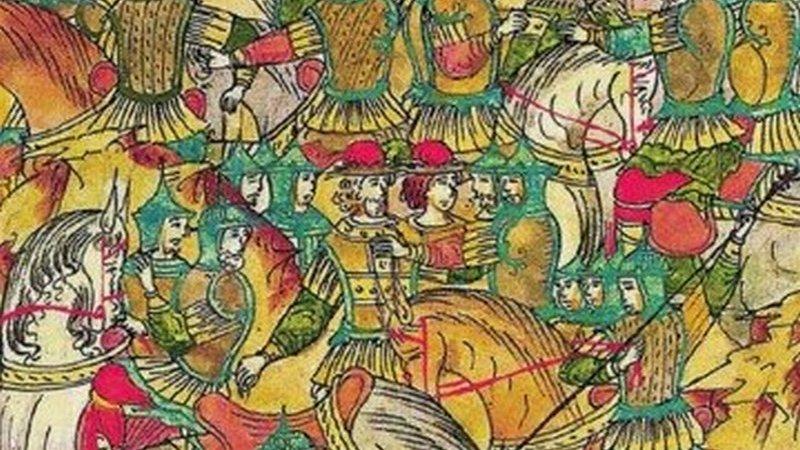 7 июля 1445 года в битве у Суздаля татары разбили московскую рать