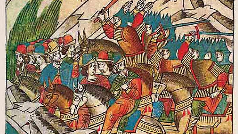 2 августа 1377 года состоялась битва на реке Пьяне