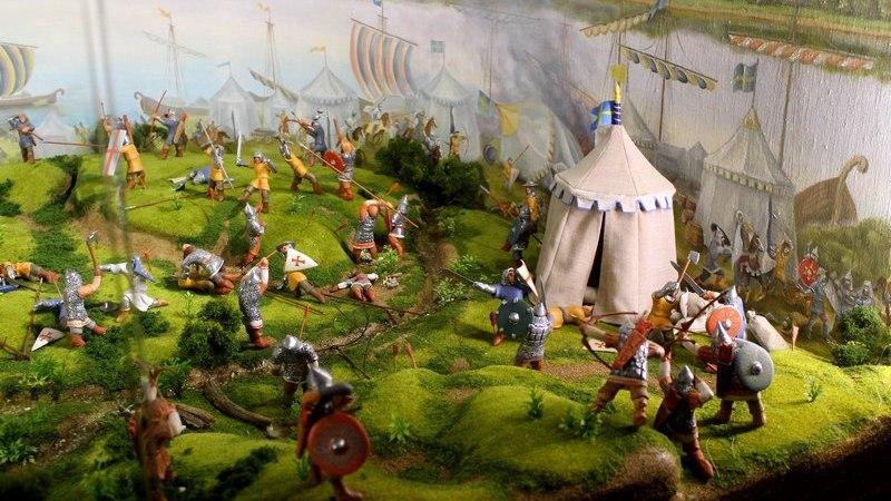 15 июля 1240 года Александр Невский разгромил шведов на Неве