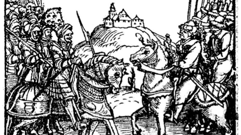 Битва при Чашниках 26 января 1564-го года