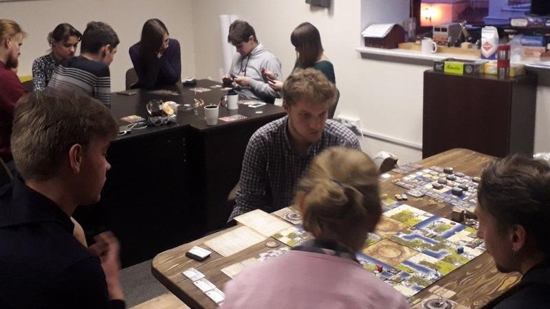 КИР «Стаград» провел очередную встречу с настольными играми