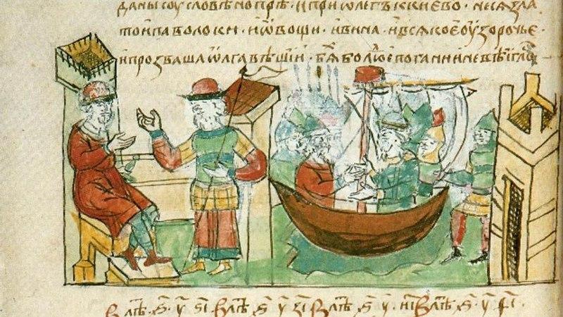 2 сентября 911 года был подписан договор между Византией и Русью