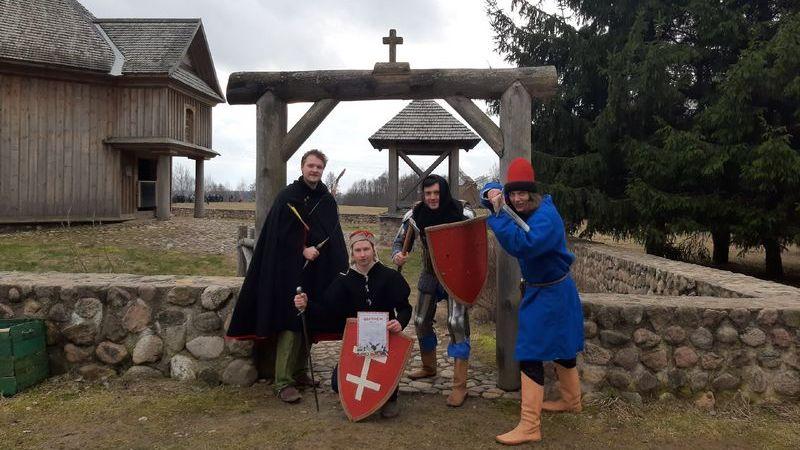 КИР «Стаград» на празднованиях Масленицы в Строчицах