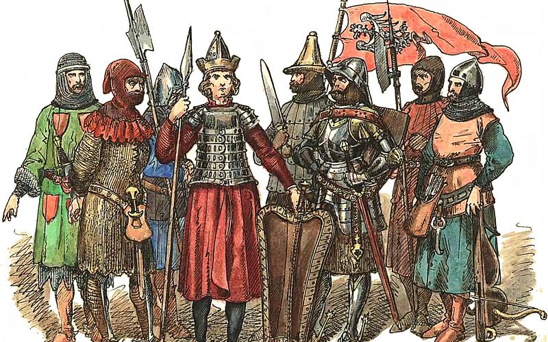 Польско-литовские войны в XIV-XV веках