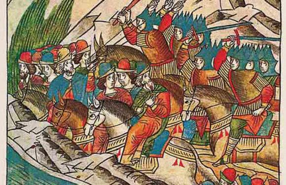 2 августа 1377 года произошло сражение на реке Пьяне